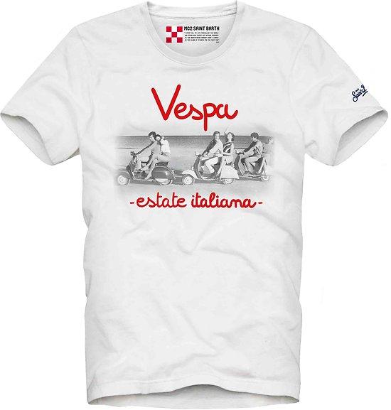 T.shirt Bella Vespa MC2 St Barth
