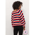 Pull Grosse Maille Multicolore