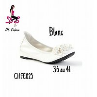 Ballerines ALICIA blanches