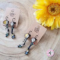 "Boucles D'oreilles LOLILOTA "" We are Family"""