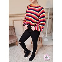 Pull grosse maille Lily