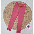 Jegging Cybèle Rose corail