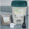 Composteur de cuisine Bokashi 20L  Ecovi® avec activateur