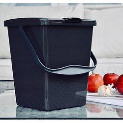 Bioseau pour épluchures 7L avec filtre à charbon