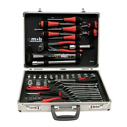 Mallette aluminium 51 outils