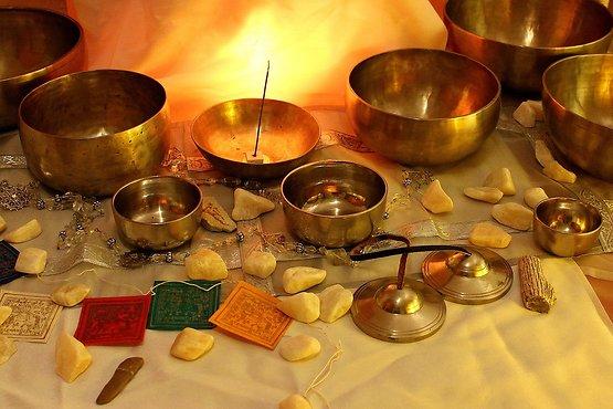 Bols chantants Tibétain