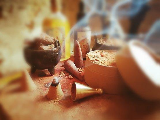 Encens poudre & cônes