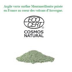 Argile Verte Bio Surfine  montmorillonite illite