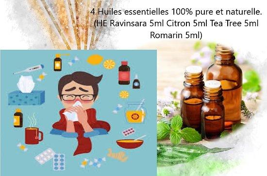 Pack  d'huiles essentielles Hiver