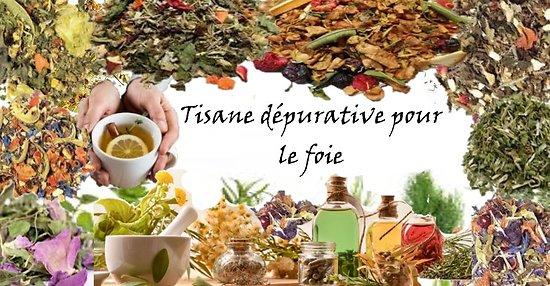Tisane dépurative pour le foie