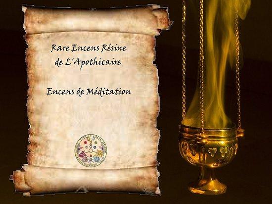 Encens résine - Méditation
