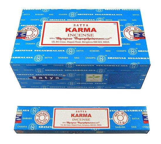 Encens Satya Bâtonnets d'encens Karma