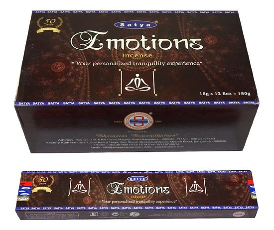 Encens Bâtonnets Satya Emotions