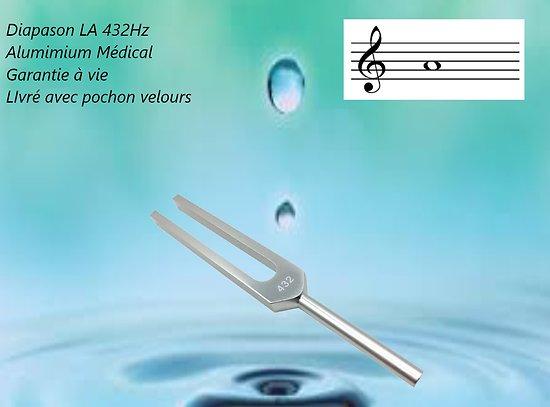 Diapason Thérapeutique 432 Hz (LA)