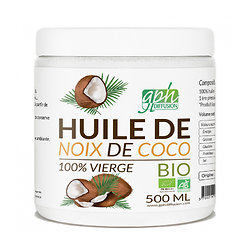 Huile de Coco Bio Naturel Vierge Pure et Biologique