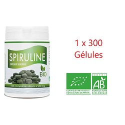 SPIRULINE BIO - 1 x 300 comprimés 500 mg
