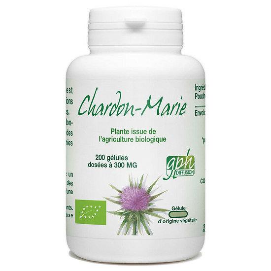 Chardon Marie Bio - 300 mg - 200 gélules végétales