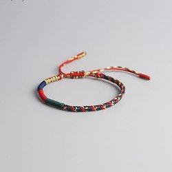 Bracelet porte-bonheur bouddhiste et tibétain .