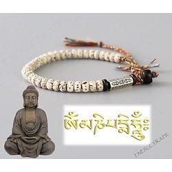Bracelet bouddhiste la voie du dharma
