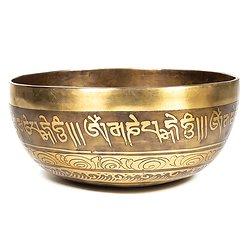 Bol Chantant Tibétain gravé