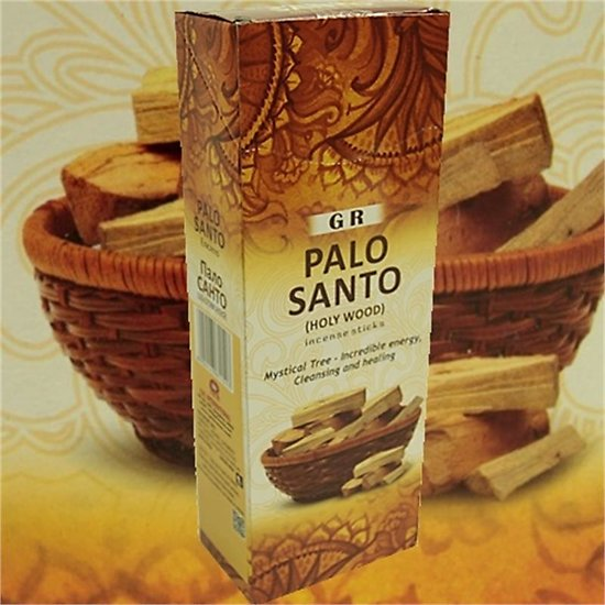 Encens Palo Santo en boite hexagonale