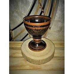 Calice Graal en grès céramique Artisanale
