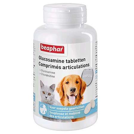 Comprimés articulations (Chondroïtine et Glucosamine) Beaphar 60cps