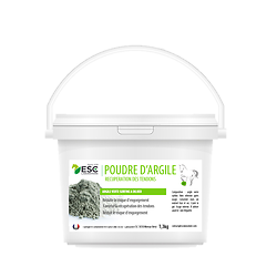 Argile Poudre 1kg ESC