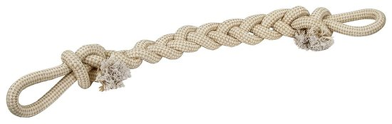 Corde tressée XL pour chien 80cm