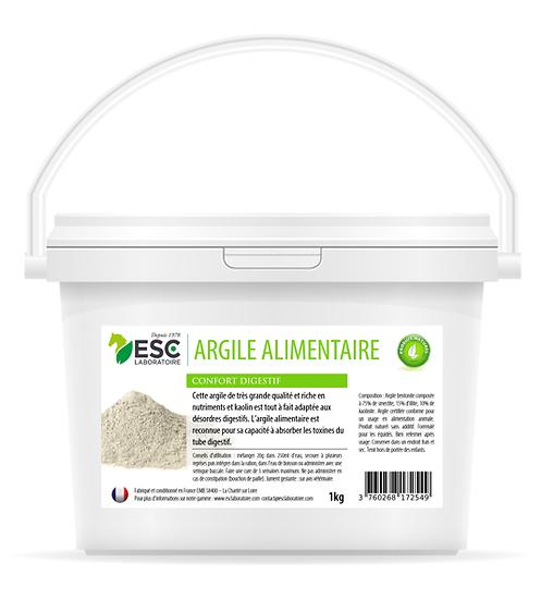 Argile alimentaire ESC Laboratoire 1kg