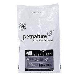 Petnature Cat Sterilized 2kg