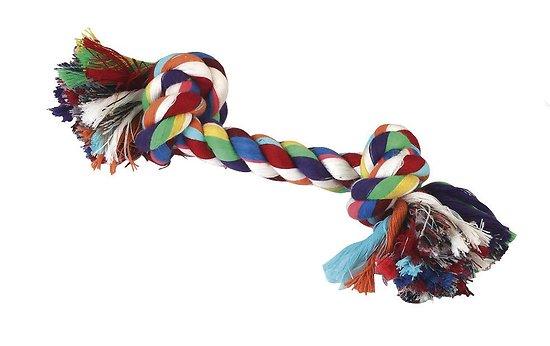 Corde noué coton chien 48cm