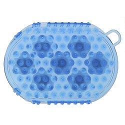 Gant Etrille de massage bille bleu