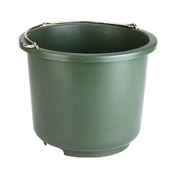 Seau d'écurie 12 litres vert