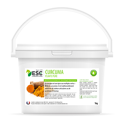 Curcuma – Articulations et digestion cheval – Plante pure 1kg