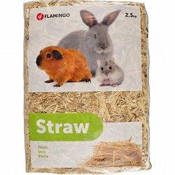 Paille 2.5 Kg - Pour Rongeur-flamingo Pet Products