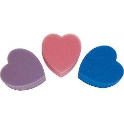 Eponge coeur Violette