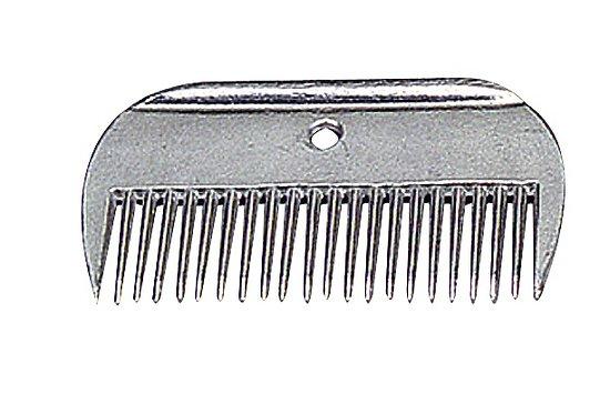 Peigne à queue aluminium
