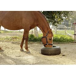 Mangeoire plastique pour pneu