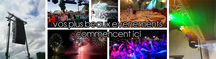 Location de materiel de sonorisation au Mans, Tours et Alençon, vos plus beaux événement