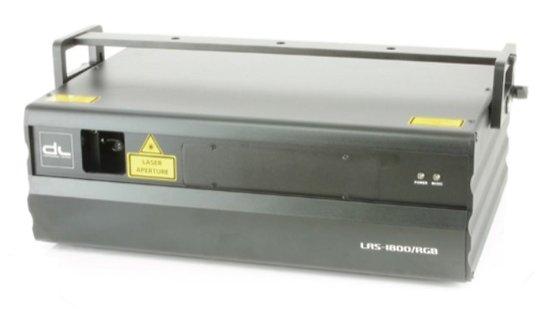 LASER RGB 1500mW 13 CANAUX DMX + ILDA + FLIGHT CASE