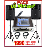 PACK DJ VIRTUEL + SONO COMPLETE