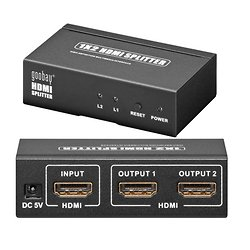 SPLITTER HDMI 3D 1 ENTREE / 2 SORTIES