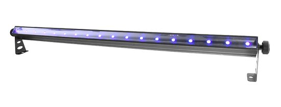 BAR LED LUMIERE NOIRE SLIMSTRIP 18 LEDS UV 3W