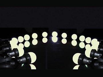 GUIRLANDE DE FETE A LED 10 METRES 20 LAMPES LED BLANC CHAUD VELLIGHT