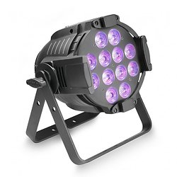 PROJECTEUR PAR QUAD COLOUR LED 12 X 12W RGBWA+UV