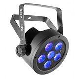 PROJECTEUR SlimPar HEX - 6 LED RGBWA+UV