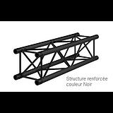 STRUCTURE RENFORCEE NOIR 3 METRE CARRE ALU 290