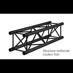 STRUCTURE RENFORCEE NOIR 1 METRE CARRE ALU 290