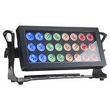 PROJECTEUR 24 LEDS 10W RGBW IP65